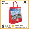 China bag manufacturer wholesale cheap laminated zipper close non woven bag price