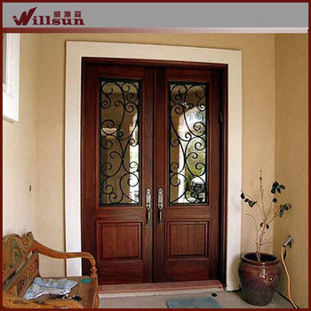 2016 Hot Sale Iron Main Entrance Doors Grill Design Buy