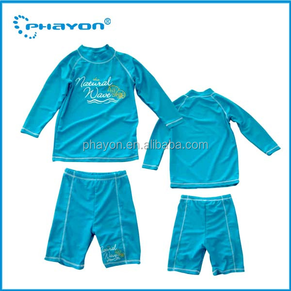 OEM&ODM Boy UV Swimwear Sun Protection UPF 50+ Teenager rash gaurd