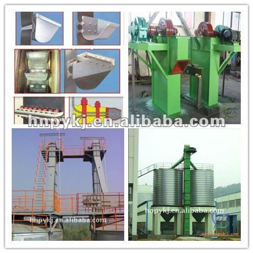 Types of Bucket Elevator For Aluminous Sand, Cement, Concrete