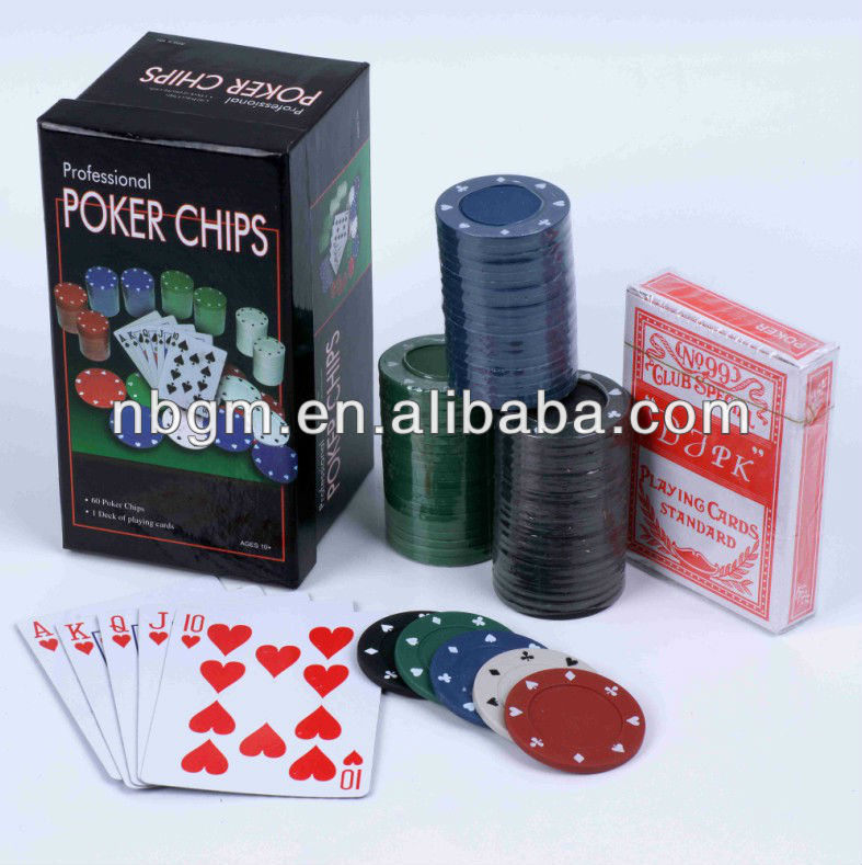 75 stuks texas hold em poker set compleet in document vakje/mini poker set