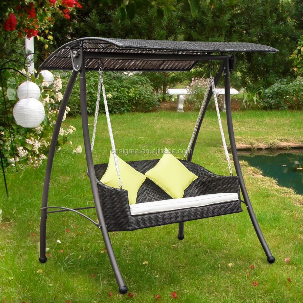 Manufacturer 3 Seater Garden Swing Seat 3 Seater Garden