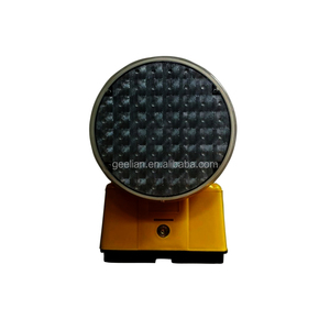 GEELIAN Solar LED Warning Light Traffic Light Signal Controller