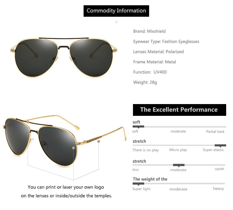 2234a6564f3 Randolph Engineering Metal Polarized Uv400 Pilot Sunglasses - Buy ...