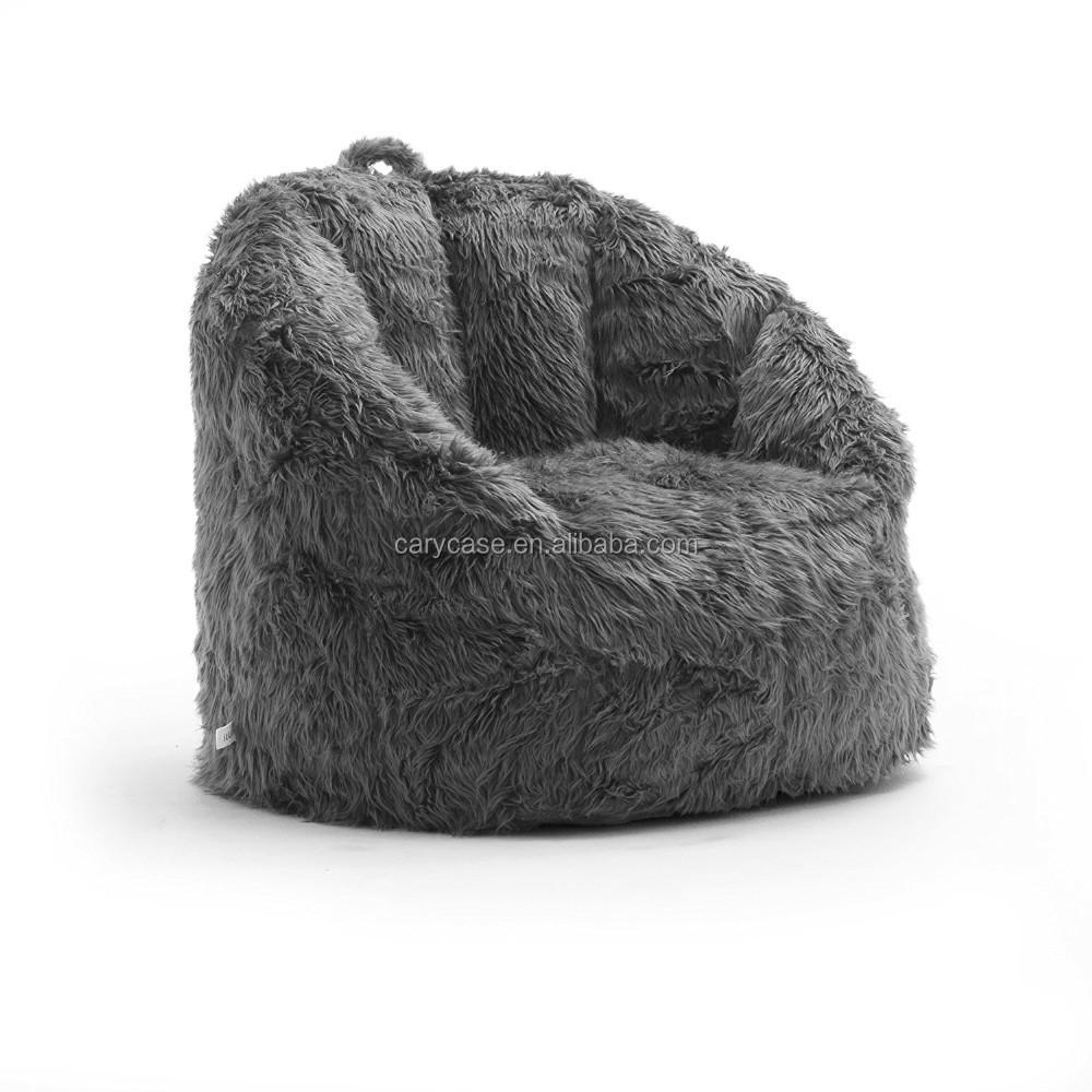 Faszinierend Sitzsack Couch Sammlung Von Grau Fell Sofa Wohnzimmer Couch, Rückenlehne Große