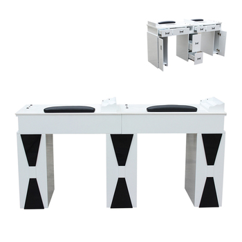 beauty salon furniture nail manicure table for new manicure and pedicure