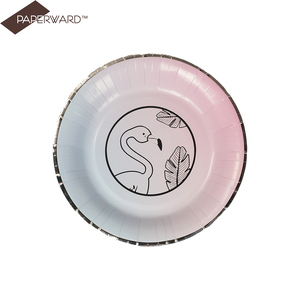 fashion multicolor series picnic best disposable plates for parties