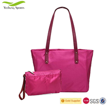 Fashion Designers Waterproof Nylon Women Shoulder Bag Tote Bag Ladies Handbag Set Quanzhou Factory