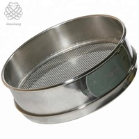 1 2 5 15 45 100 300 500 Micron round holes stainless steel lab wire mesh test sieve