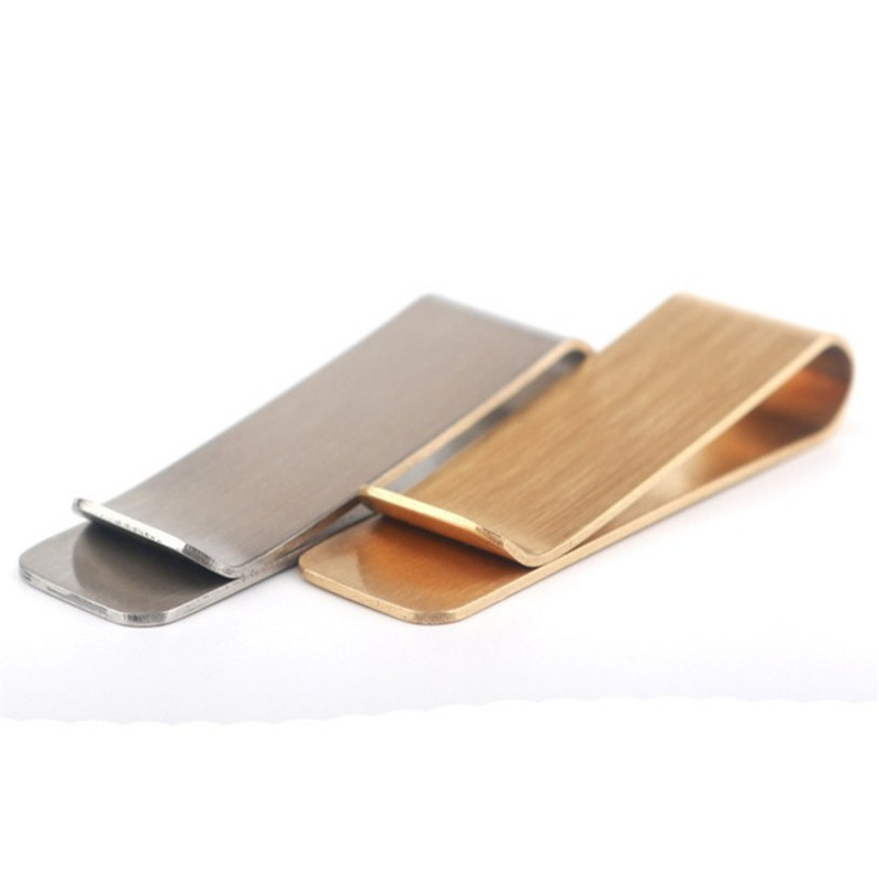 Promo custom metal money clip