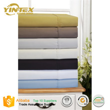 Solid Color Plain Dyed China Supplier Bulk Cotton Bed Sheets
