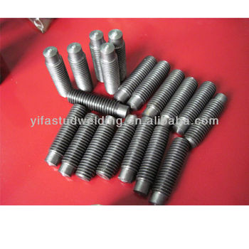 Threaded Stud With Reduced Shaft (rd) For Drawn Arc Stud Wedling ...