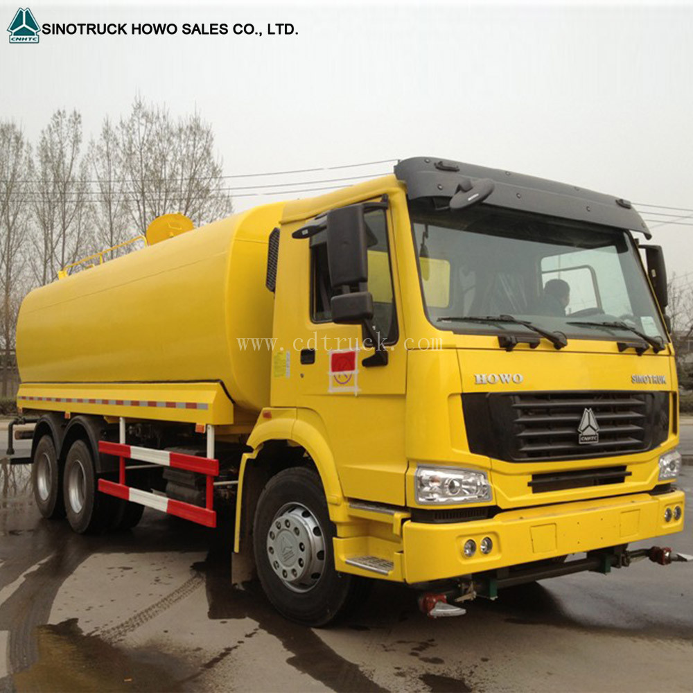 Water sprinkler truck water well service bowser tank trucks price