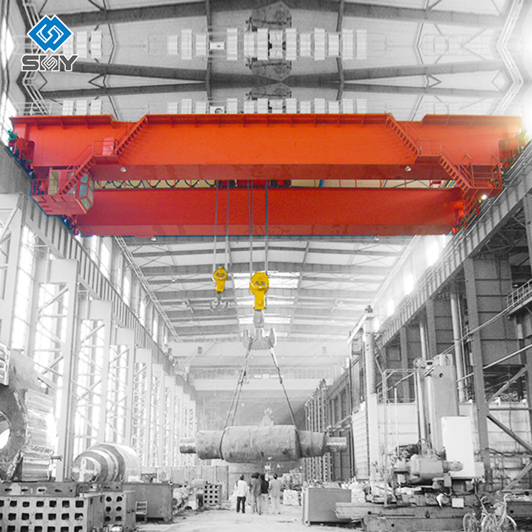Yuntian มือถือไฟฟ้า Double Girder Overhead Shop Cranes