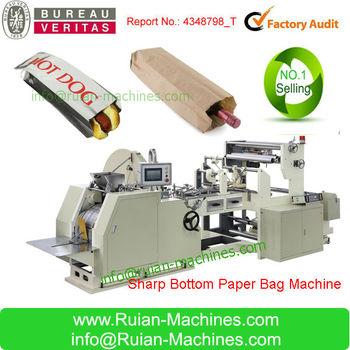 used paper bag making machine