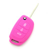 2017 best quality Silicone Car Key Cover, Silicone Car Key Cap Silicone Car Remote Key Case for hyundai