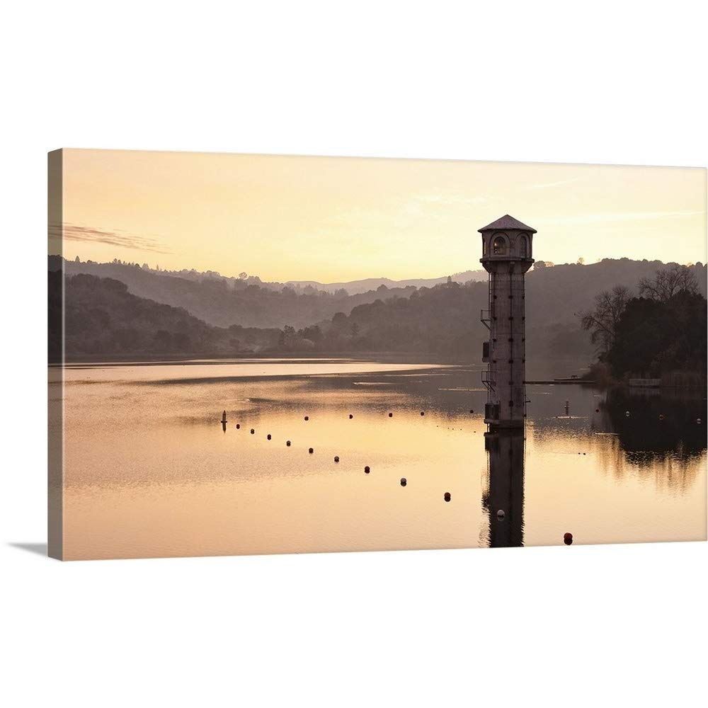 "Great Big Canvas Gallery-Wrapped Canvas Entitled Lafayette Reservoir 48""x27"""