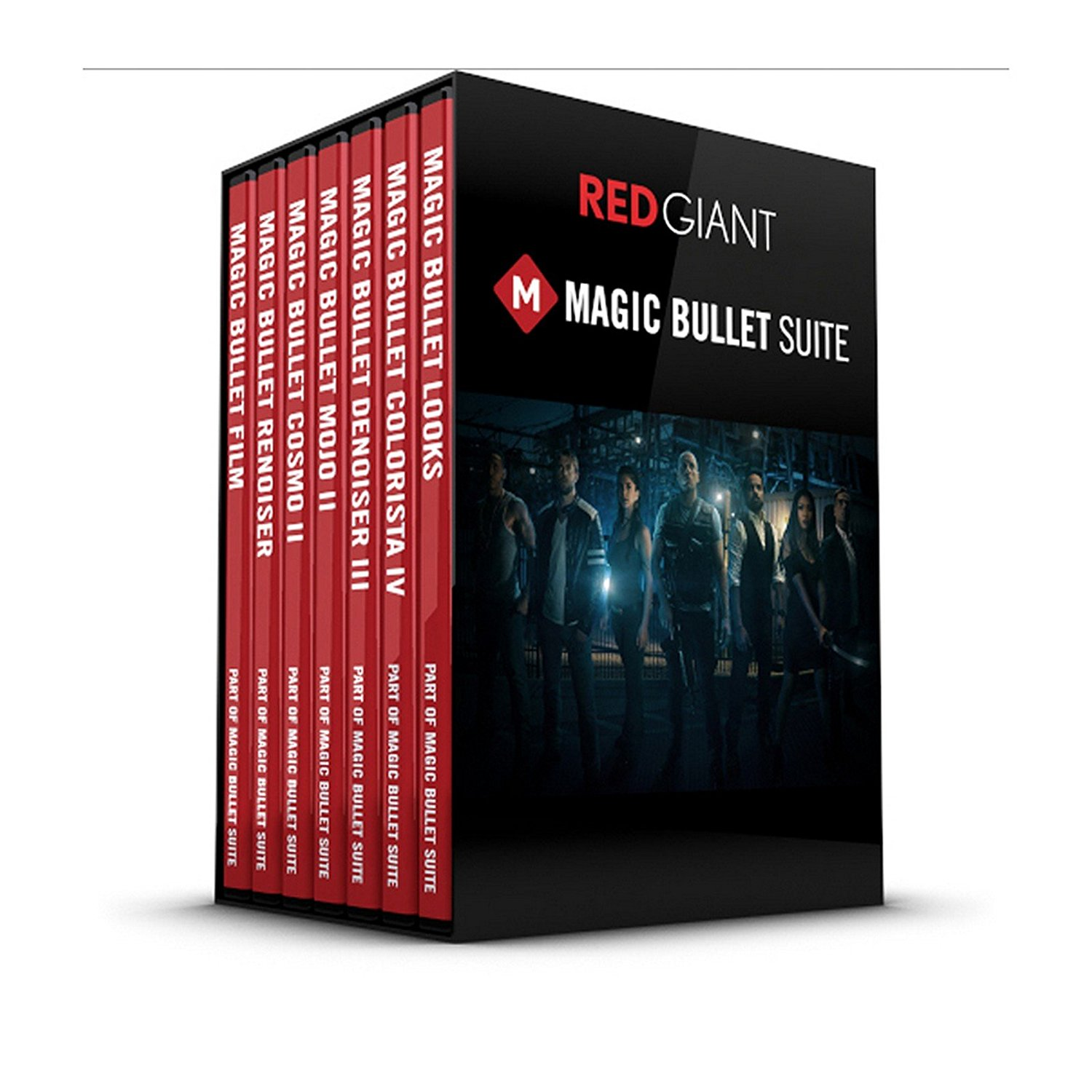 Red Giant Magic Bullet Suite 13 Upgrade | Film Looks Finishing Color Correction Software Download Only