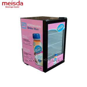 Mini Display Refrigerator 68L Hotel Used Display Cabinets