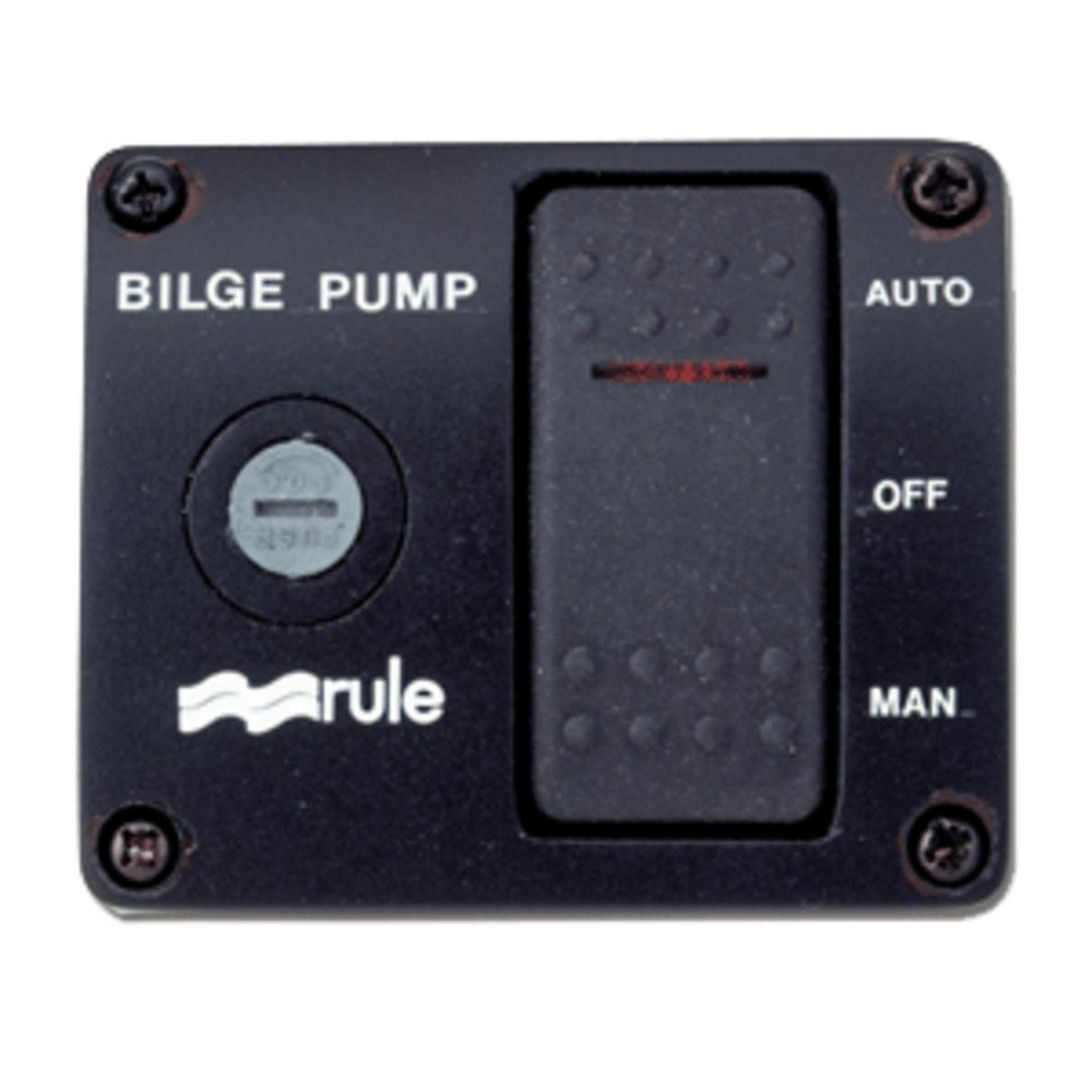 Cheap Lighted Rocker Switch 12v Find 120 Volt Further 3 Way Wiring Multiple Get Quotations Rule Deluxe Panel