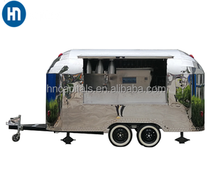 Modern Design fashion snack mobile food van /small business food truck