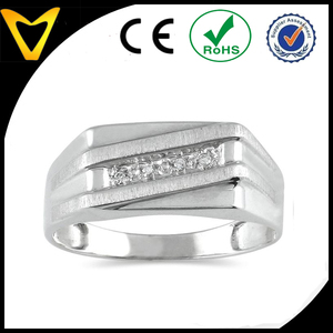 2015 Hottest Quality Indonesia Stainless Titanium Rings Stainless Ssteel Ring For Stone, Hot Titanium Steel Stone Setting Rings