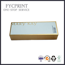 Gold Stamping Cosmetic Packaging box producer