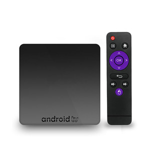 2018 Popular 2GB+16GB S905W Androidtv OS Smart Android OTT TV box Support Net-flix 1080p voice control vs X96 MINI