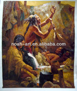 Hot Seller Indian Art Oil Paintings Attractive Price