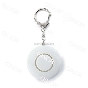 Round shaped personal alarm