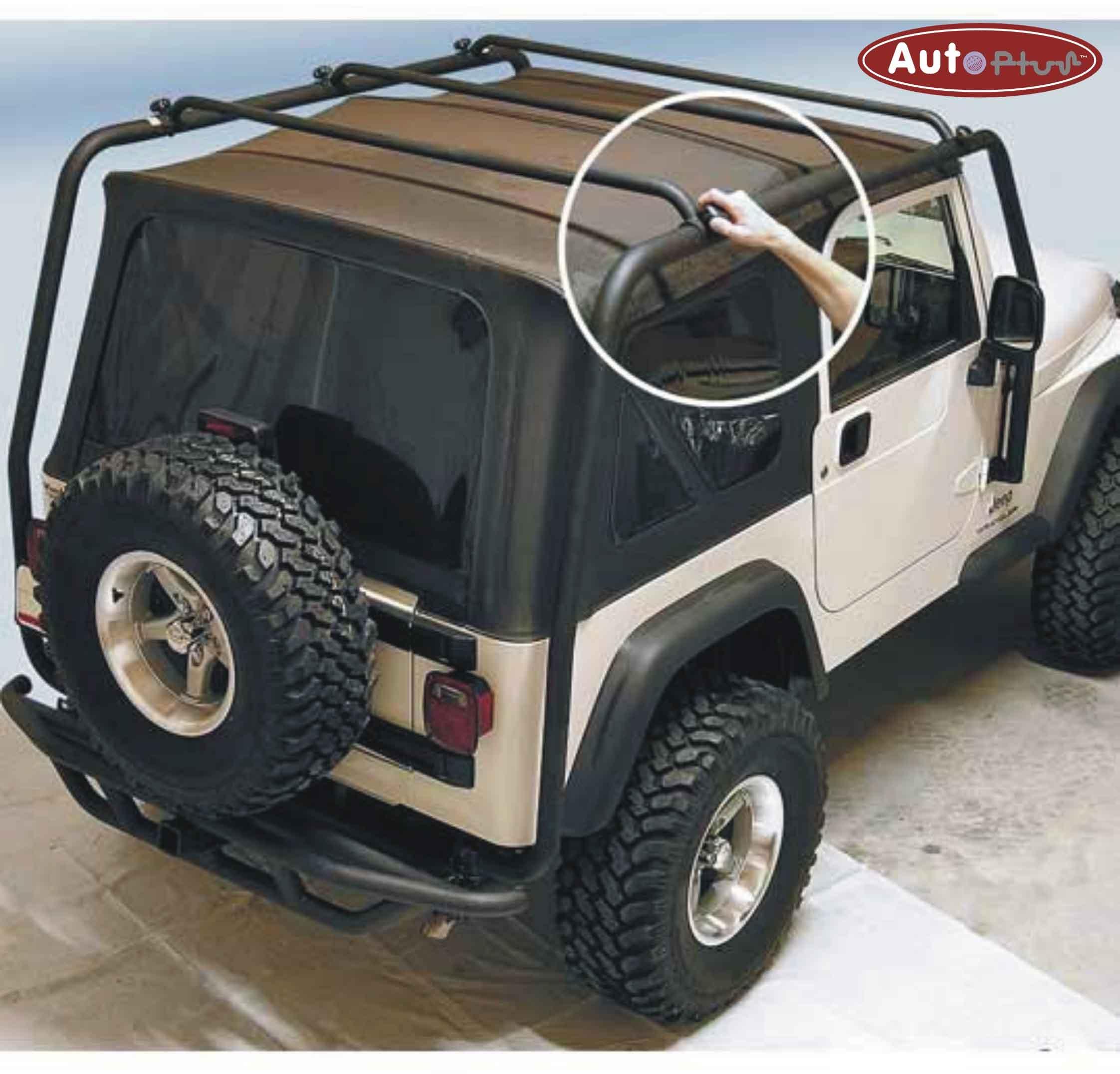 rack exo jeep top wrangler rugged door ridge jk roof