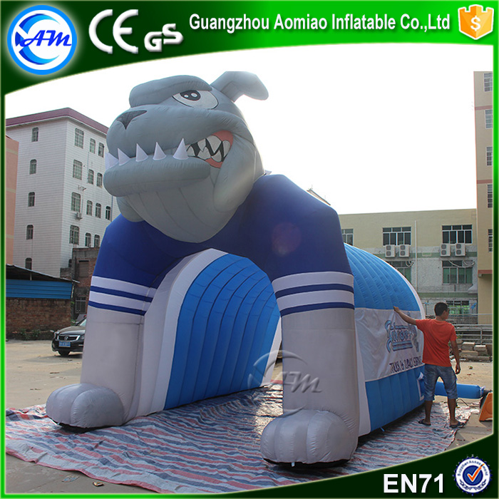 inflatable football entrance helmet tunnel inflatable football tunnel for kids