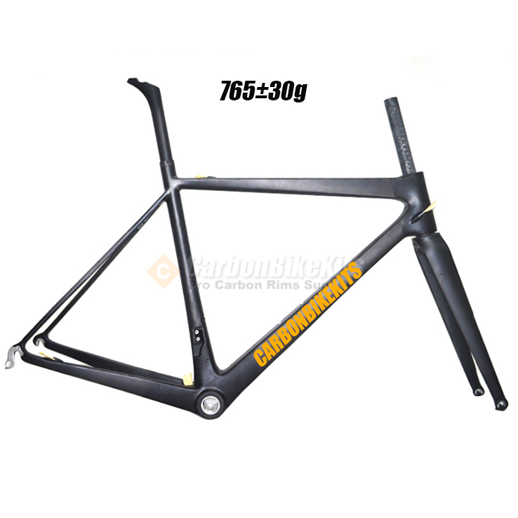 CarbonBikeKits light weight toray bicycle <strong>frame</strong> full <strong>carbon</strong> <strong>road</strong> <strong>frame</strong> CFM186
