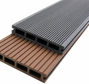 Weather Resistant Solid WPC decking for Outdoor