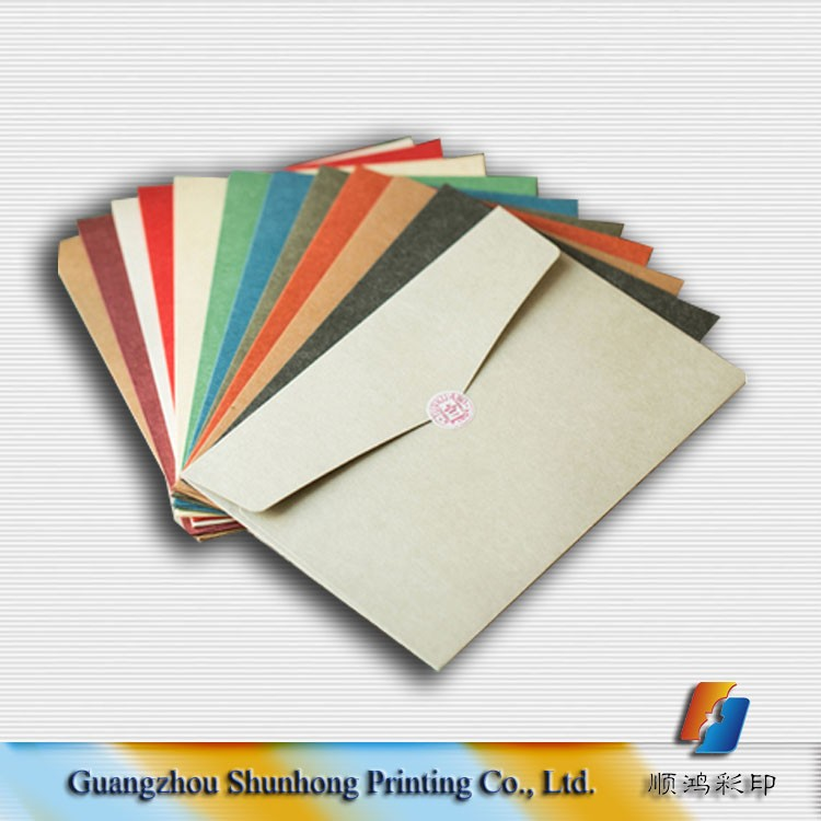 top quality hot sale paper gift envelope for invitation card