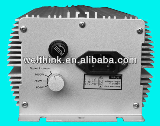 1000W Dimming HPS/MH electronic ballast (Both for HPS AND MH)