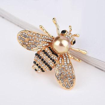 Màu Vàng Ong Mật Ong Brooch Pin Rhinestone Insect Trâm Cài - Buy Bee Trâm  Pin,Bee Trâm Pin,Bee Brooch Pin Product on Alibaba com