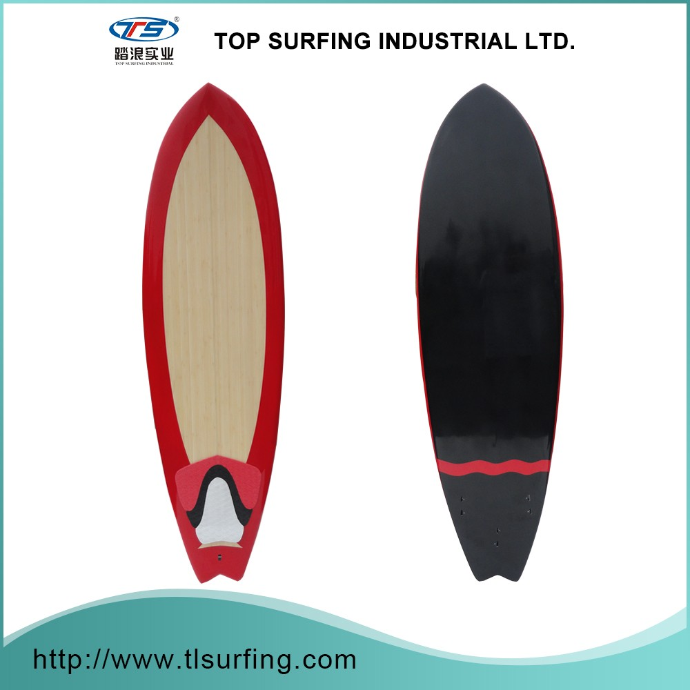 Cheap And High Quality Color Painting Short Surf Board Comb