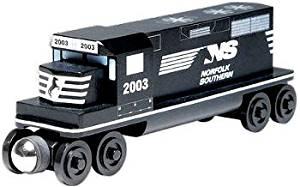 Norfolk Southern GP-38 Diesel Engine - Wooden Toy Train by Whittle Shortline Railroad