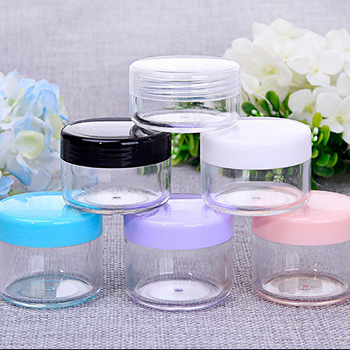 OEM Low price can cosmetic jar with lid