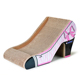 Pet Product Interactive Cat Toy Cardboard Corrugated Cat Scratcher High Heeled Shoes--CP-048