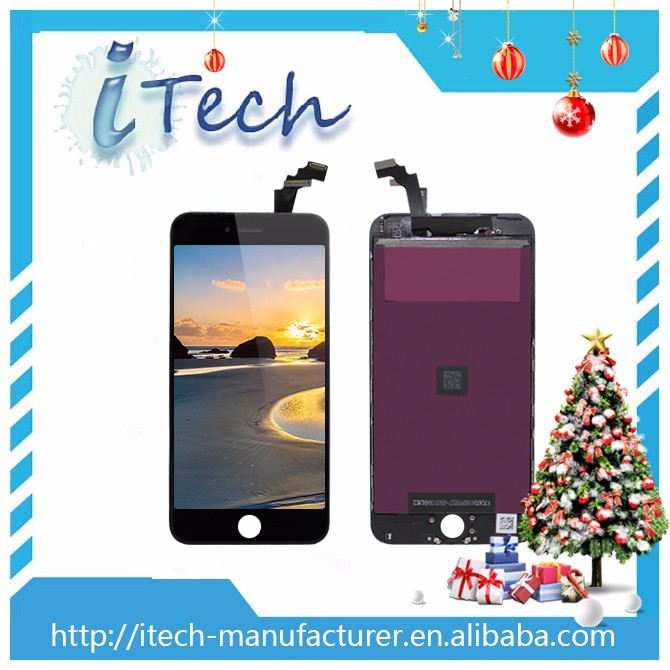 Lcd disply front and back screen replacement for iphone 6 plus assembly