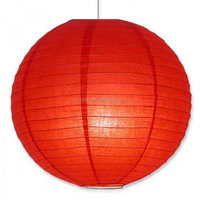Import export best selling mixed colored round paper lantern
