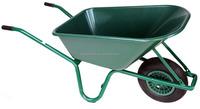 easy to use SGS farm power wheel barrow wb6414 for russia steel tray