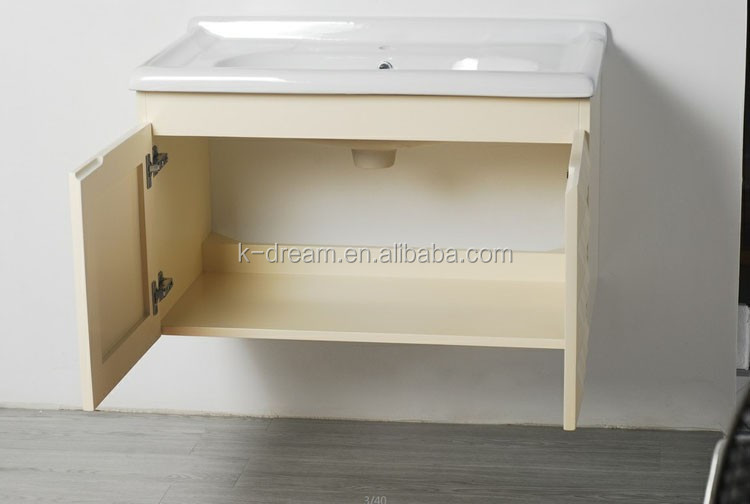 Floor gemonteerd hand wastafel spiegel wastafel kast vanity kd