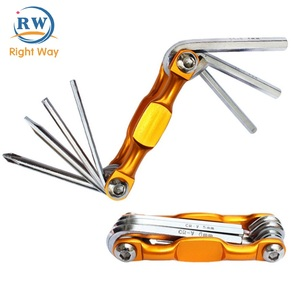 Wholesale Pocket Mini Portable Multifunction Bicycle Repair Tool for Bike Car