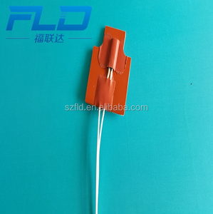 Customize 3.7v 5v 12v 24v 58v electric silicone rubber pad heater