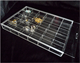 Clear Acrylic Compartment Storage Bin, Transparent Perspex Box with Lid, Lucite Box with Divider