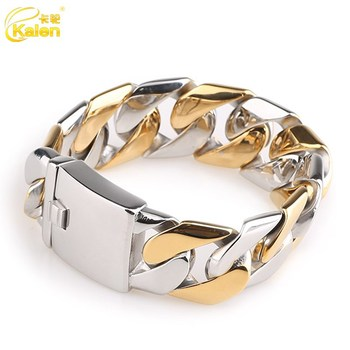 link womens hollow inches bracelet for mm solid cuban avianne gold yellow co in bracelets women
