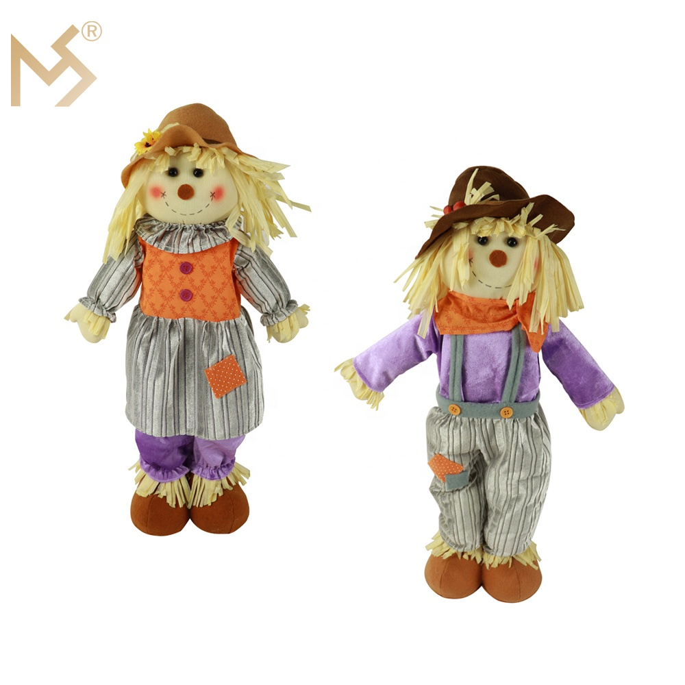 Wholesale 38' scarecrow pick for thanksgiving decoration